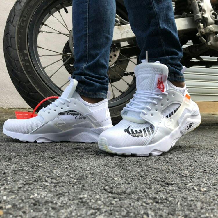 Nike Huarache X Off White All White Premium Quality