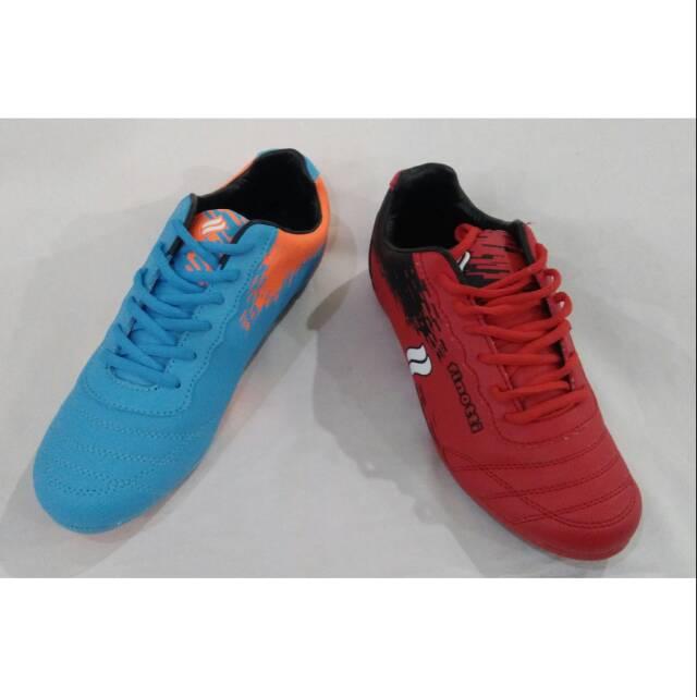 Sepatu pria Finotti AFF merah/biru