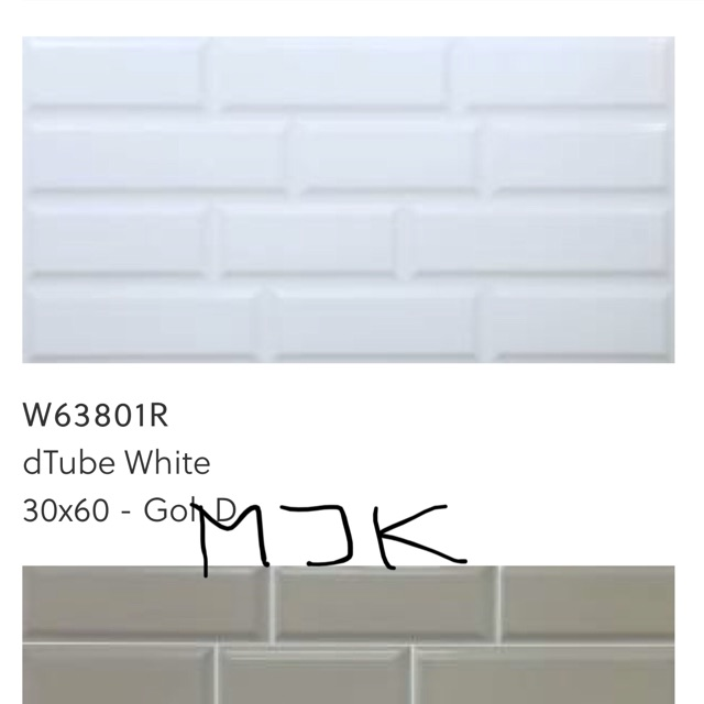 Keramik dinding 30x60 Roman motif bata untuk kitchen set atau toilet