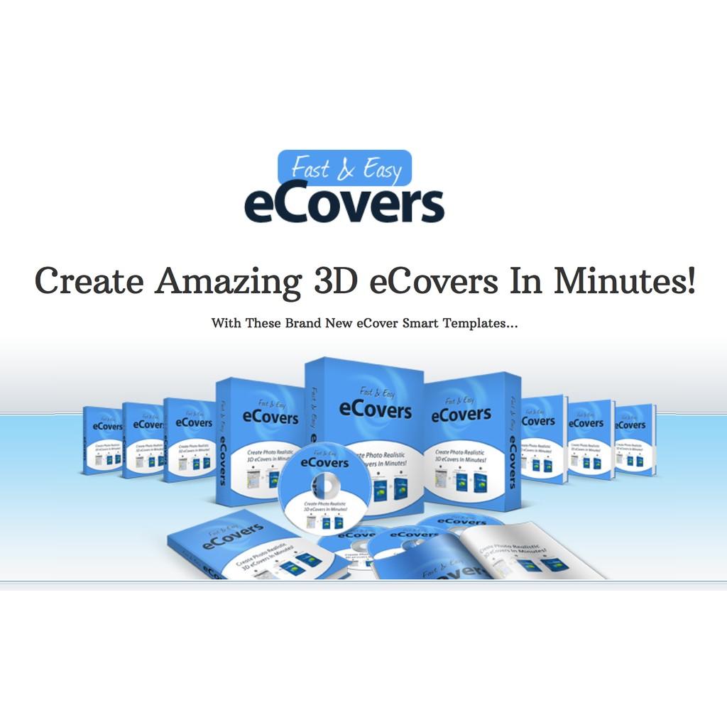 COVER MAKER FAST & EASY DAN Q3D BONUS PHOTOSHOP CS3