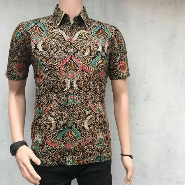 Batik Pria Pekalongan: Warung Batik Kemeja Batik Lengan Panjang Pendek Pekalongan