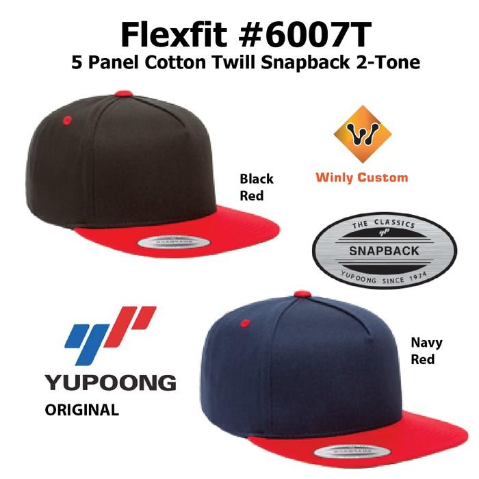 22fdf987 PROMO Topi Yupoong Flexfit Classic Trucker w/ White Front Panel 6006W ORI    Shopee Indonesia
