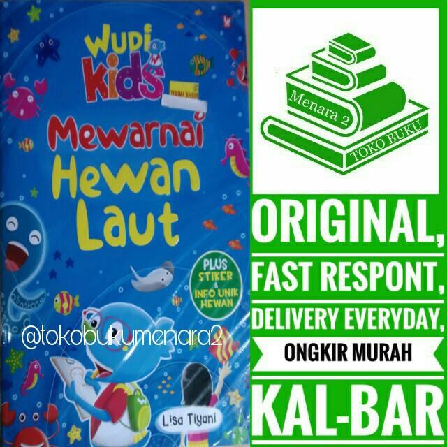 Mewarnai Hewan Laut Shopee Indonesia