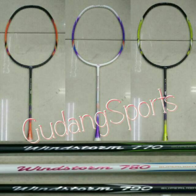 Raket Badminton Lining Windstorm 770/780/790 - Original   Shopee Indonesia