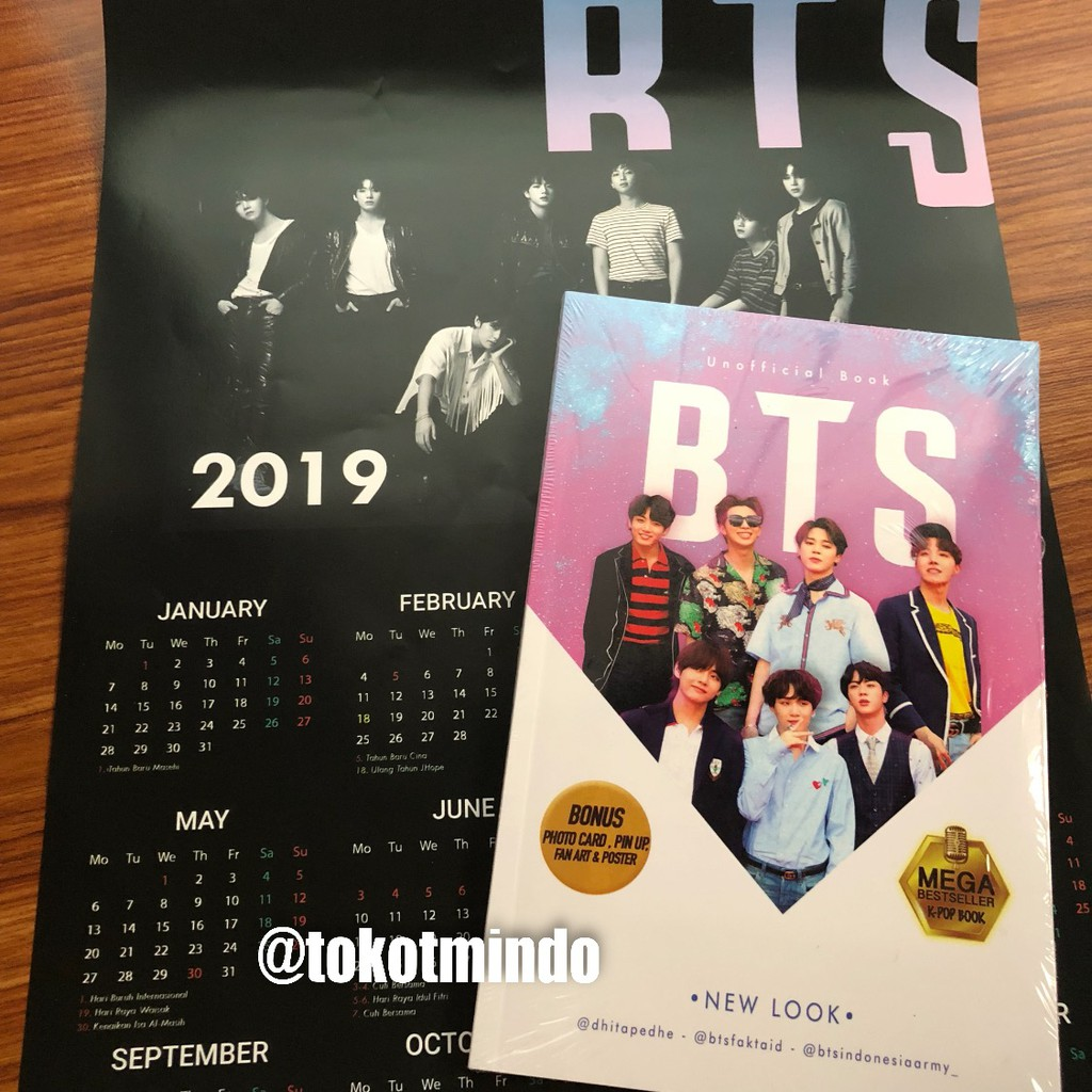 BTS Unofficial Book Limited Edition (@dhitapedhe @btsfaktaid @btsindonesiaarmy_)