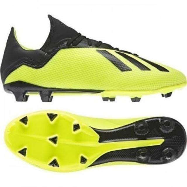 Kicosport Sepatu Bola Adidas X 18 3 Fg Stabilo Hitam Original New