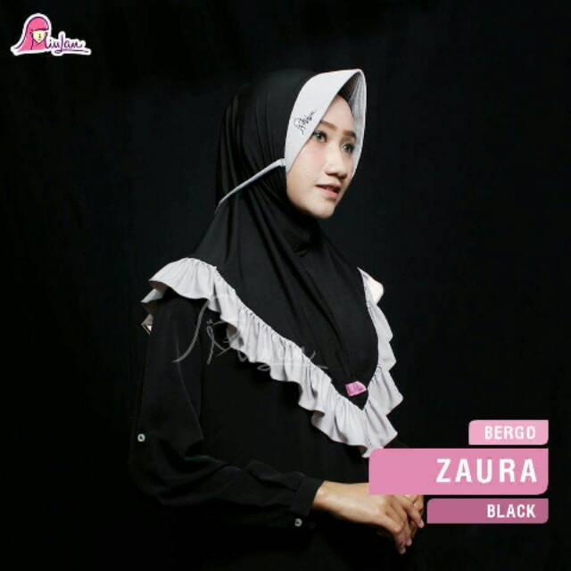 Hijab Miulan Bergo Zaura Shopee Indonesia