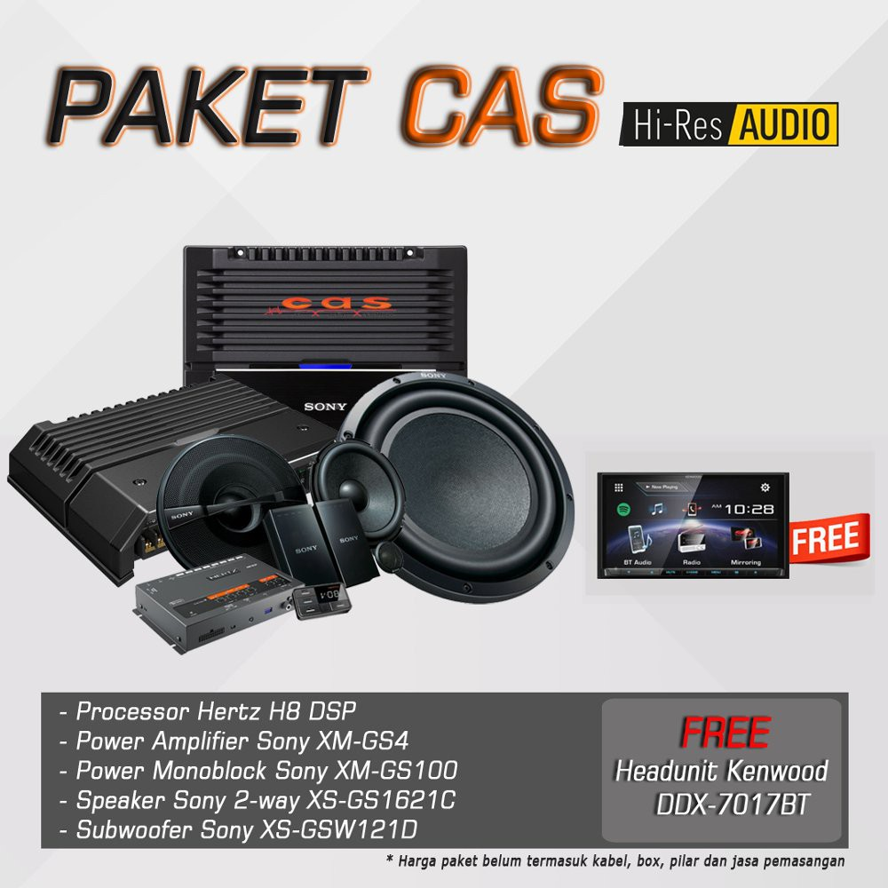 Paket Upgrade Audio Cello Shopee Indonesia Slot5 With Power M12d