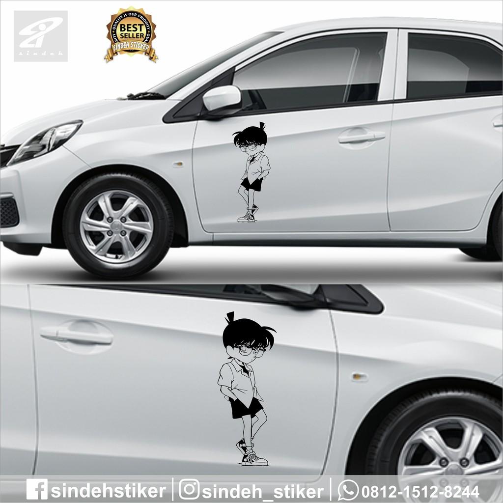 Cutting Sticker Mobil Detective Conan Keren Stiker Mobil Murah Berkualitas Shopee Indonesia
