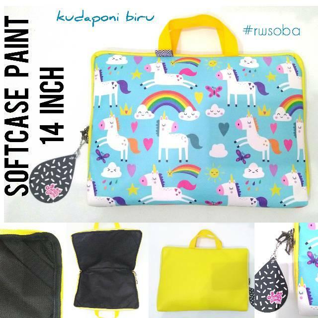 Tas Laptop PLEMO Bohemian Style Softcase Sleeve Case Ultrabook 14 inch | Shopee Indonesia