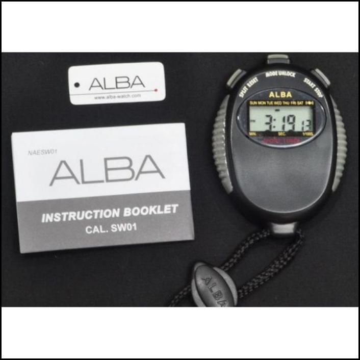 ALBA AXA29Z STOPWATCH HITAM BLACK DIGITAL ALARM ORIGINAL AXA29ZX1 --- AKSESORIS OLAHRAGA | Shopee