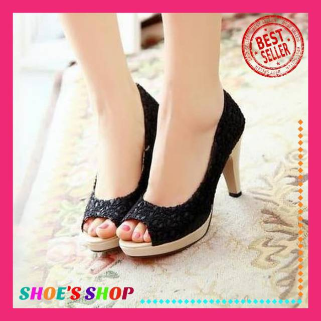 Sepatu Wanita Sepatu High Heels Wanita Sepatu Hak Tinggi Wanita