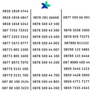 Harga nomor xl Terbaik - Kartu Perdana Handphone