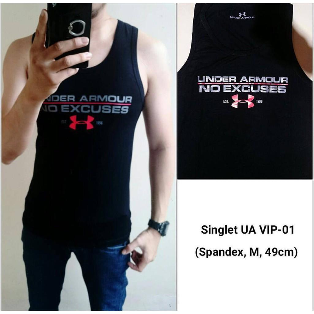 Baju Kaos Singlet Lekbong Tanktop Cowok Gym Fitness Shopee Indonesia Pria Superhero