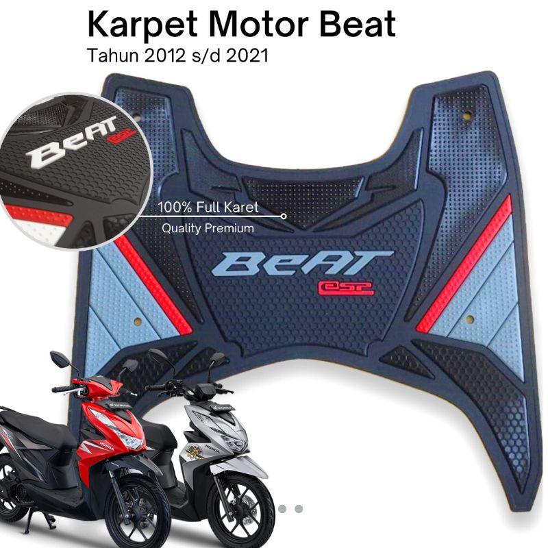 Aksesoris Alas Kaki Karpet Motor Beat 2012 - 2021