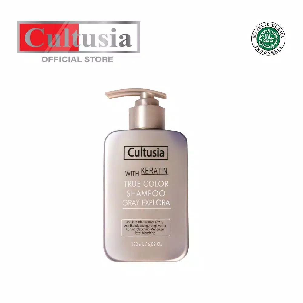 Cultusia True Color Shampo Grey Explora 180 ML-2