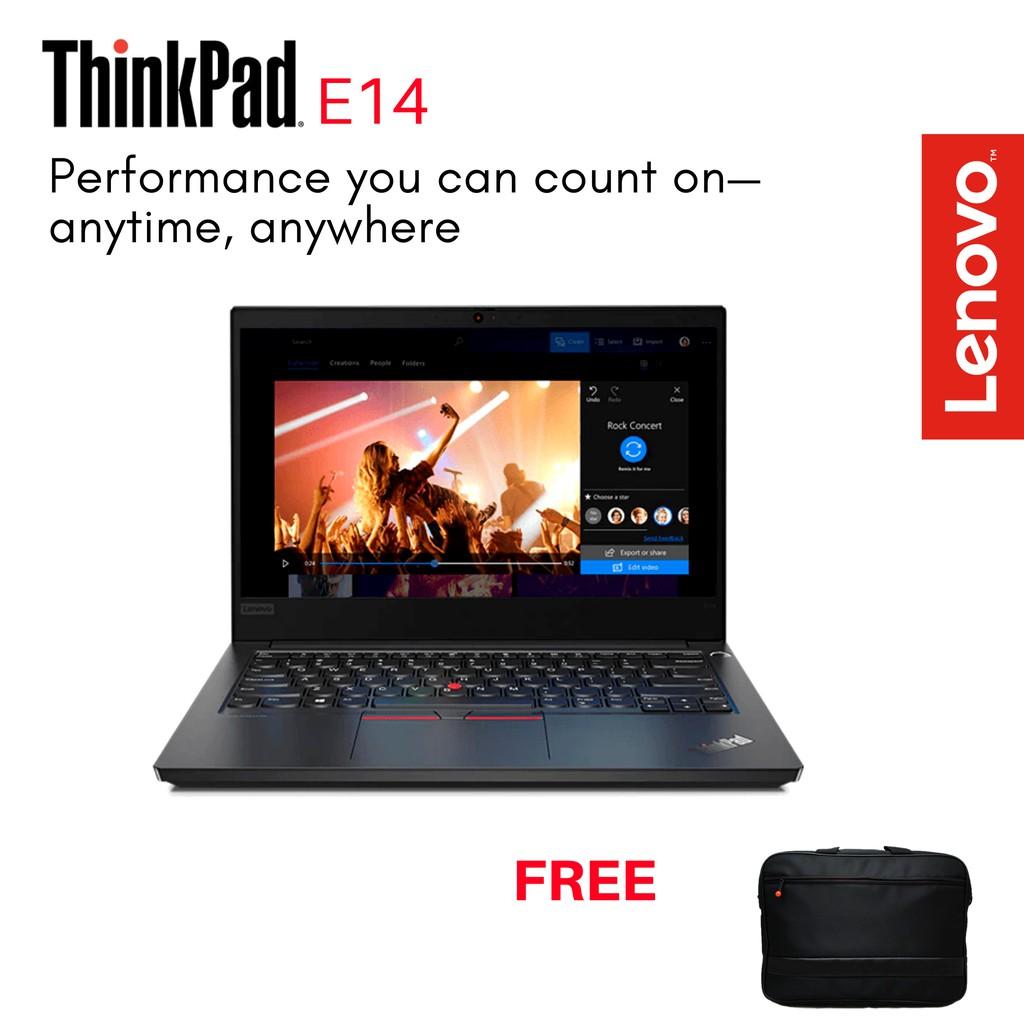 Lenovo Thinkpad E14 Eq00 I5 10210u Win10 Pro 8gb 512gb Ssd 14 Fhd Wva Integrated Intel Shopee Indonesia