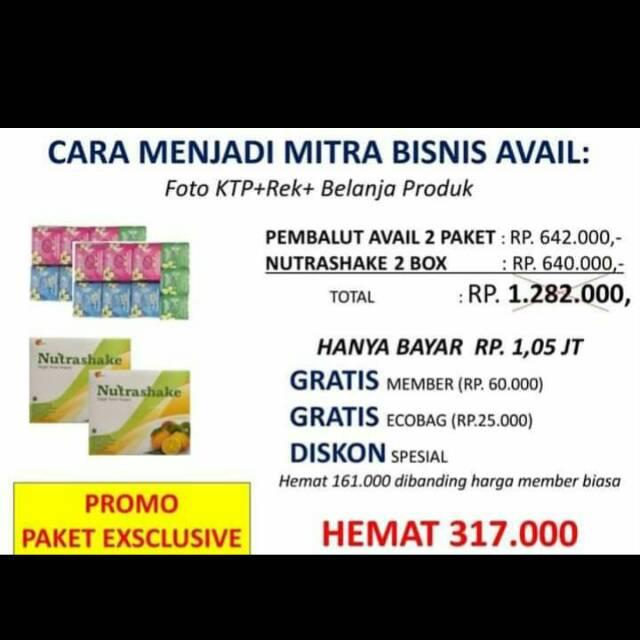 Paket Member Avail Shopee Indonesia