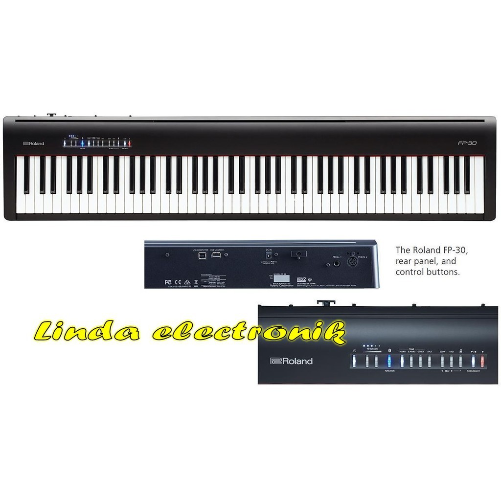 Roland Fp 30 Roland Fp30 Fp 30 Digital Piano Fp30 Oryginal Shopee Indonesia