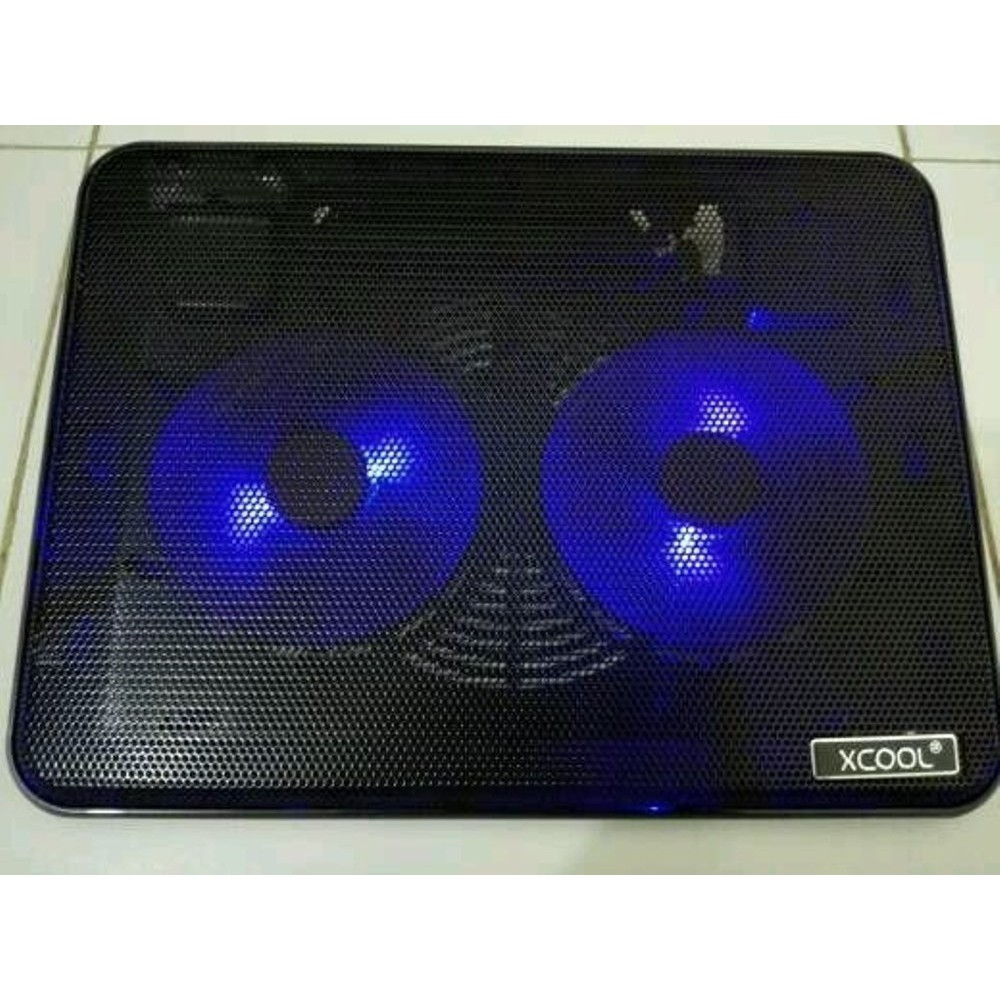 Xcool Xf2 2 Fan Cooling Pad Shopee Indonesia Kepiting M Tech Mt919 Crab Coolingpad Lipat Flip Laptop