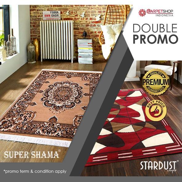 Karpet Bcf 160x210 Promo Free Pen Snowman T C Apply Shopee Indonesia