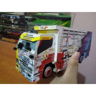 Papercraft Truk Canter Rebbeca Skala 30 Shopee Indonesia