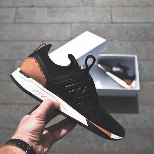 New balance 247 black tan