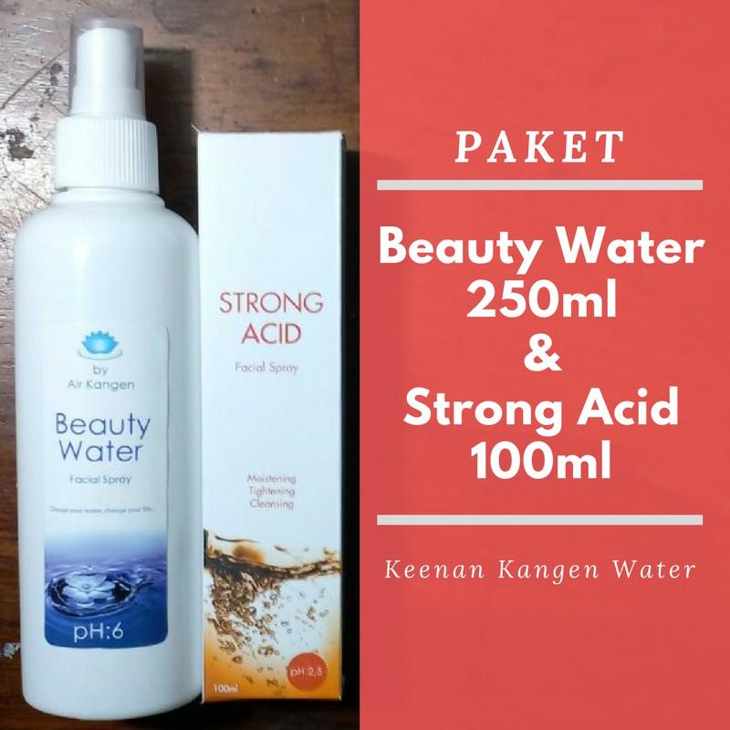 PROMO ORIGINAL STRONG ACID BEAUTY WATER PAKET DUS MURAH 100ML TERMURAH TERLARIS | Shopee Indonesia