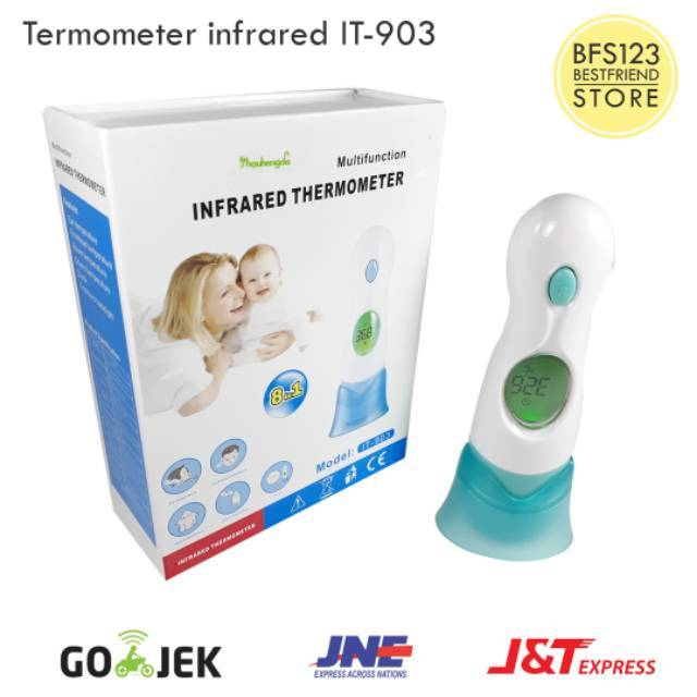 Termometer Infrared Digital With Box