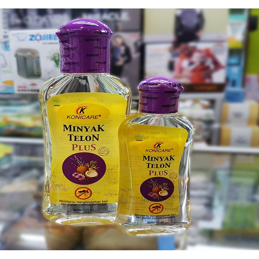 Minyak Telon Konicare 125ml Kayu Putih Standard Plus Ungu Kuning | Shopee Indonesia