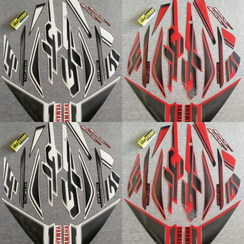 Sticker striping stiker motor xeon gt 125 qlty a full body bumble bee shopee indonesia