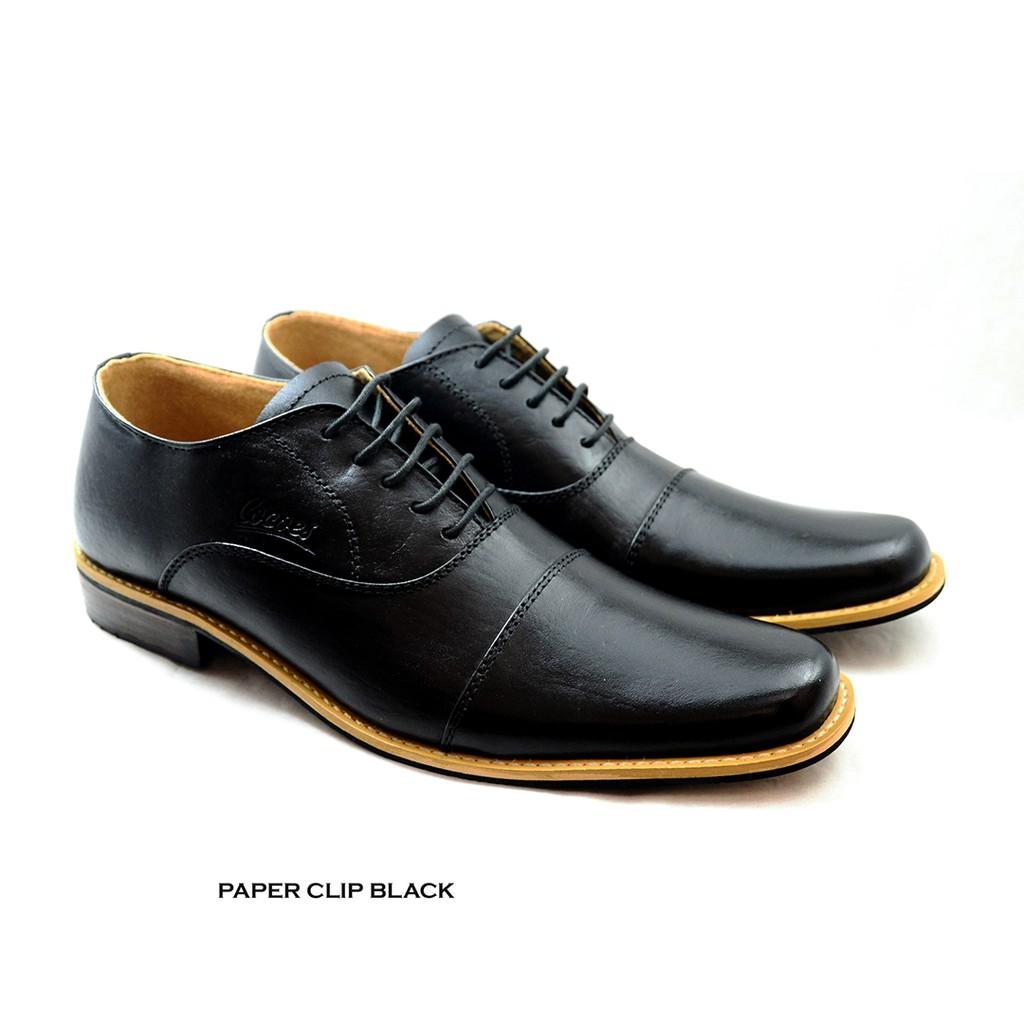 Sepatu Pantofel Pria PREMIUM Branded formal untuk kerja dan pesta Wetan  NS-4  b03fae033b