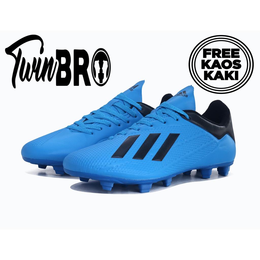 Sepatu Bola Adidas X19 1 Bright Cyan Fg Shopee Indonesia
