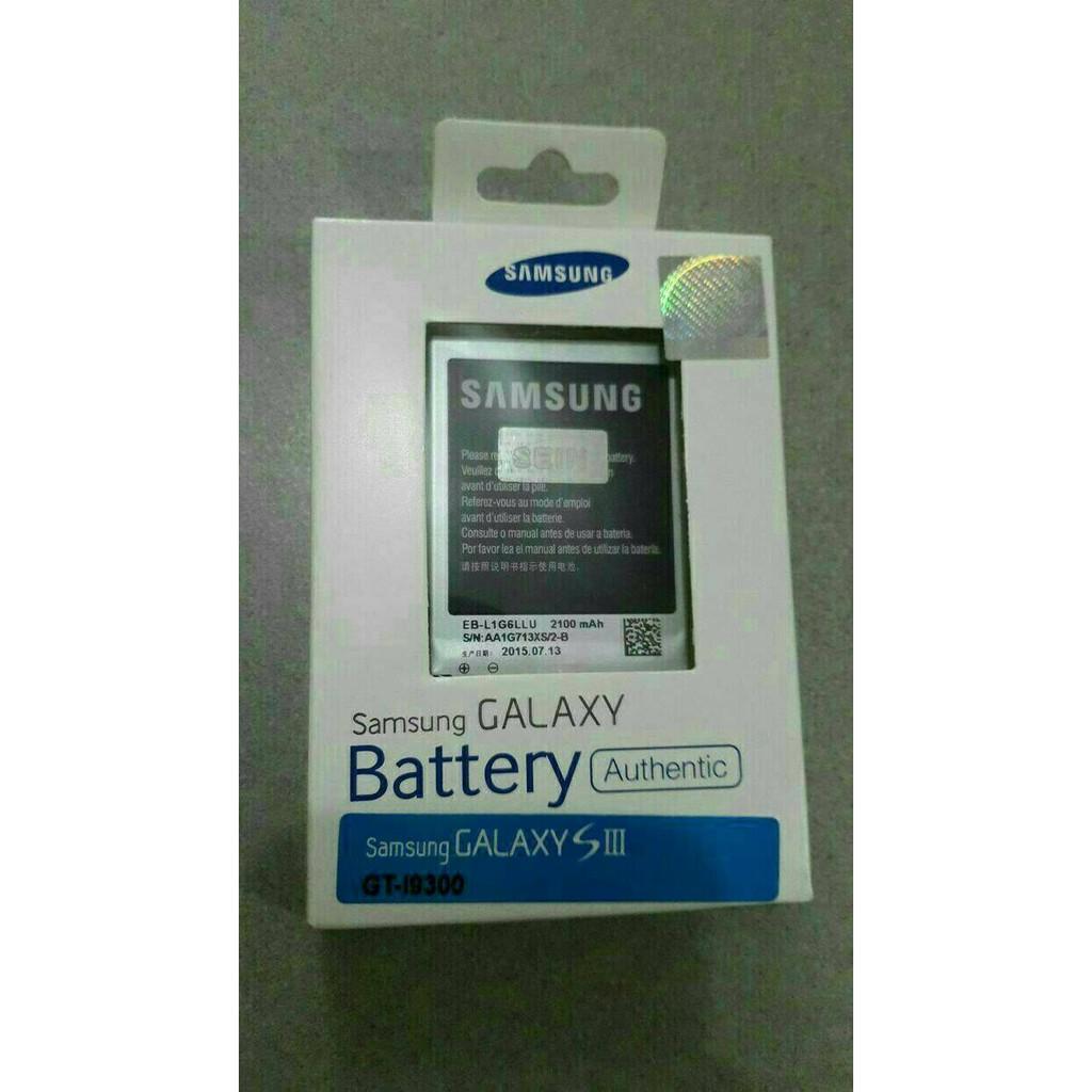 Baterai batre batere battery Samsung GT-I9300 Galaxy S3 Original 100% | Shopee Indonesia