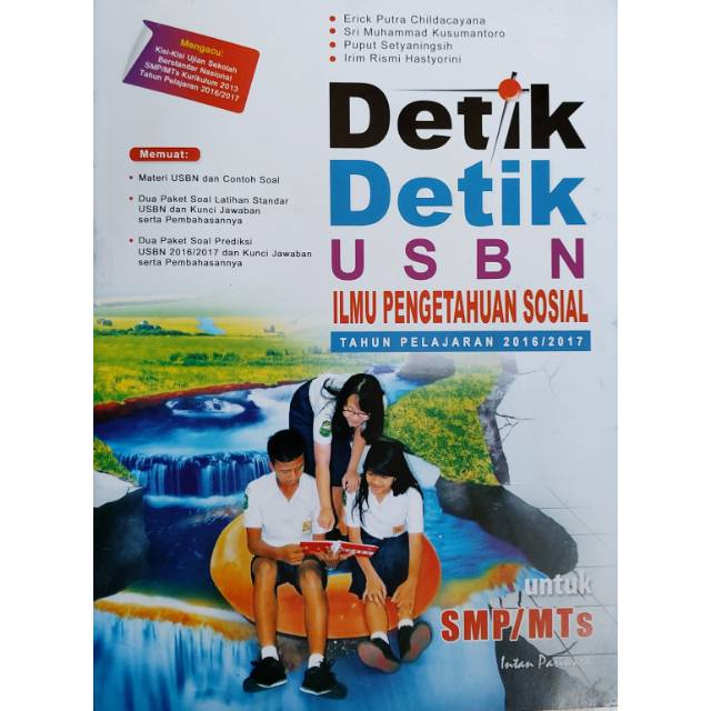 Buku Detik Detik Usbn Ips Smp Tahun Ajaran 2016 2017 Shopee Indonesia