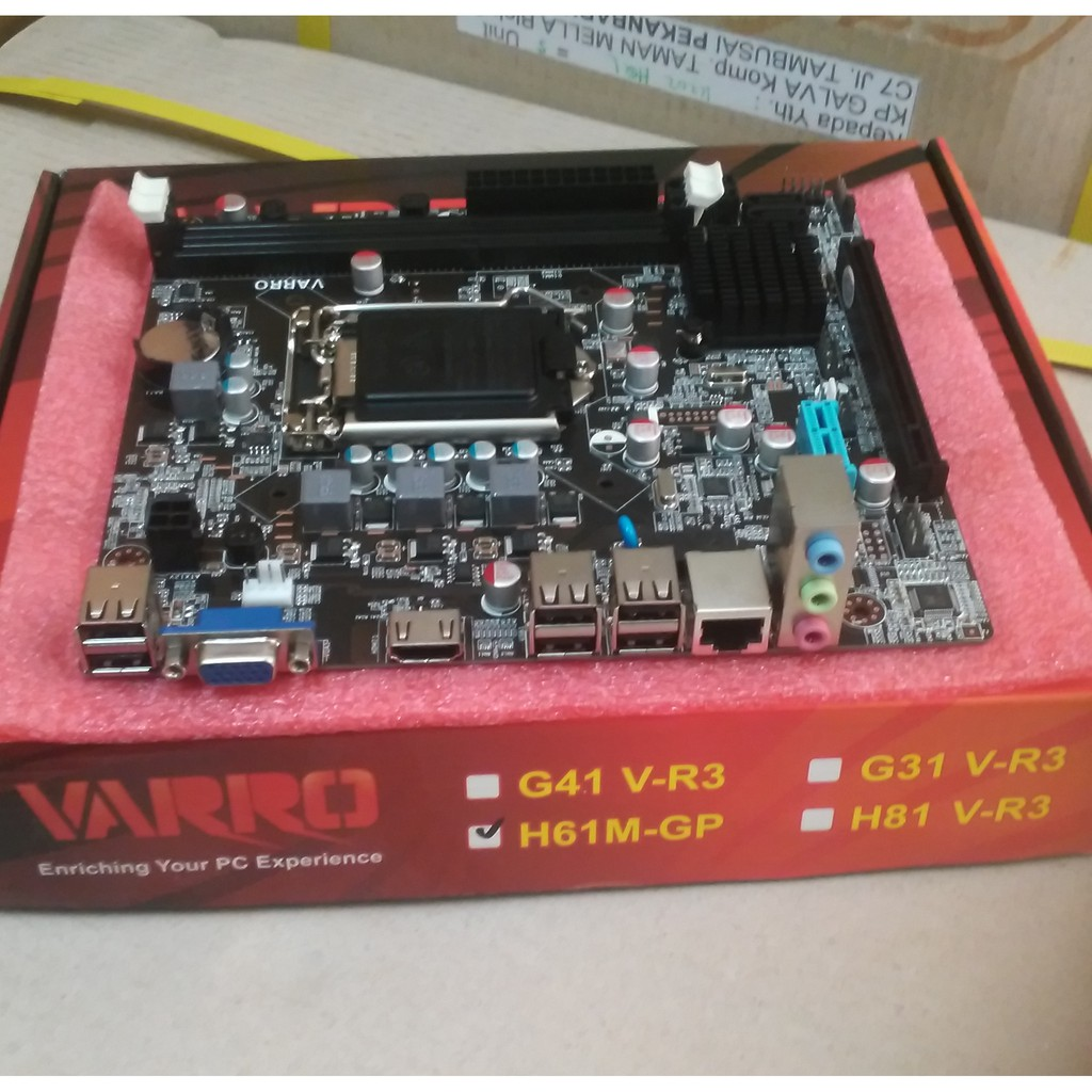 Motherboard Amptron H61c Socket 1155 Ddr3 Mainboard Intel Shopee Extreme H61 Soket Indonesia
