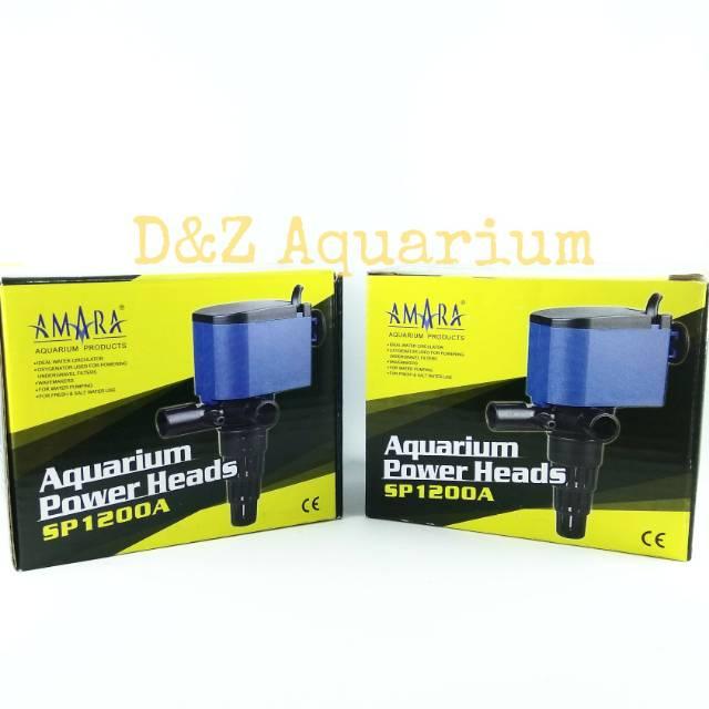 Amara 1200 / Pompa Aquarium Amara SP-1200A / Power Head ...