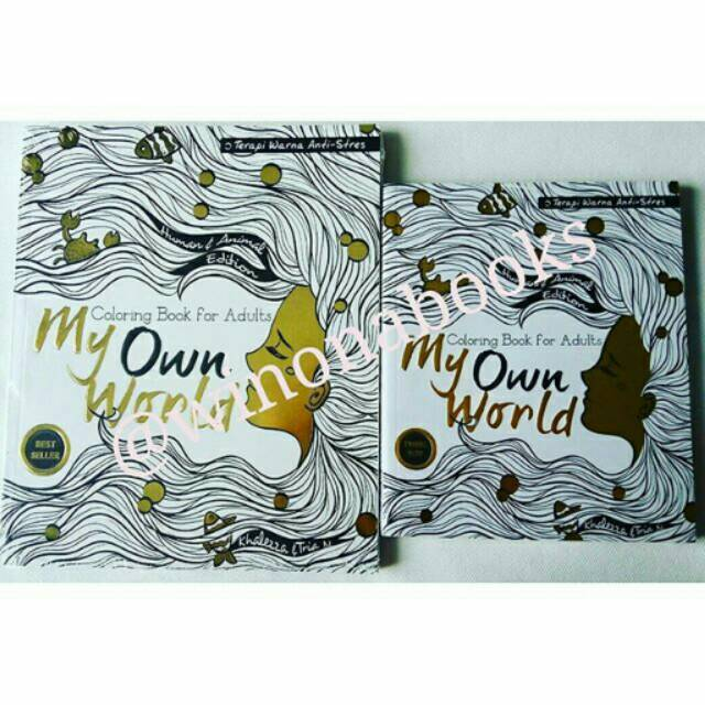 Color Of Childhood Coloring Book Buku Mewarnai Dewasa Coloring
