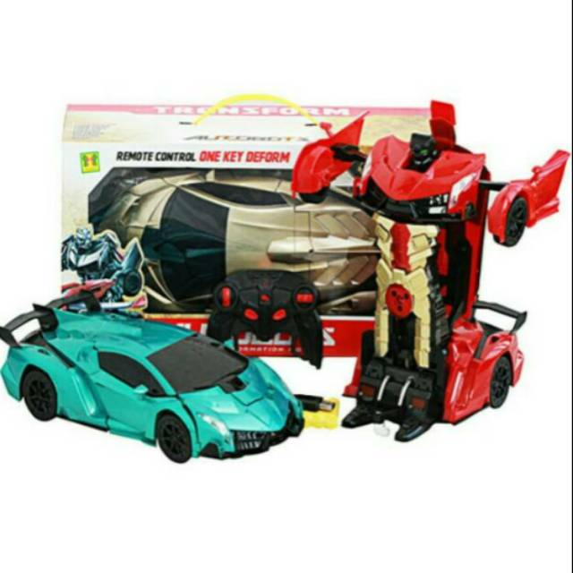 Mainan Mobil Rc Jadi Robot Autobots 1 12