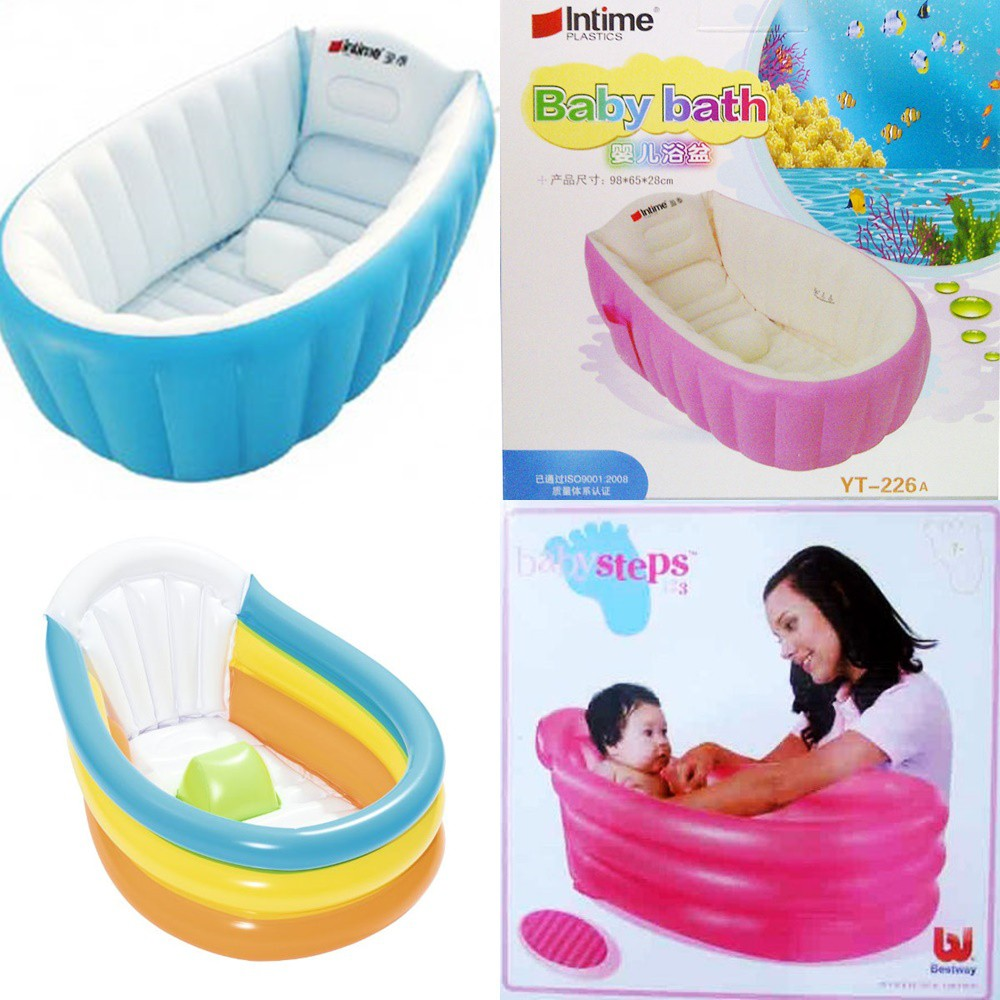 Promo Intime Pink Bestway Bath Tub Baby Bak Mandi Bayi Bathub Dan Kolam Anak Spa Shopee Indonesia