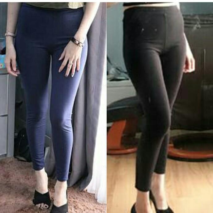 Key 0686 Legging Polos Fb Spandex Import China Legging Wanita Celana Wanita Legging Shopee Indonesia