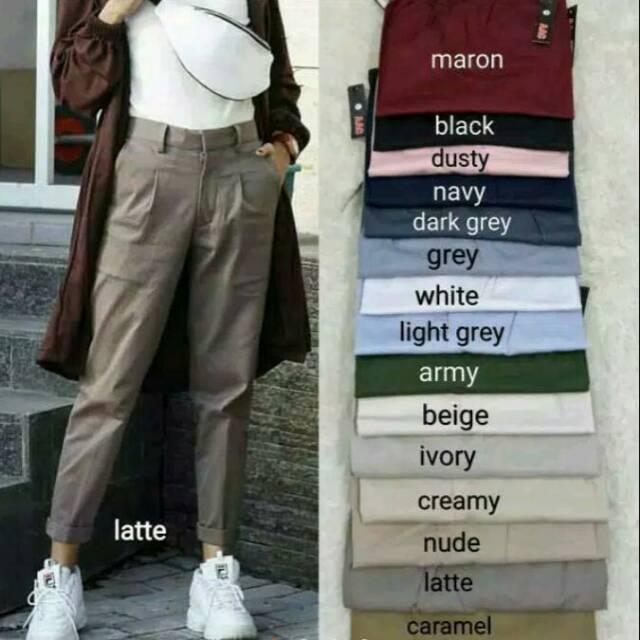 67+  Celana Bahan Baggy Pants Terlihat Keren Gratis