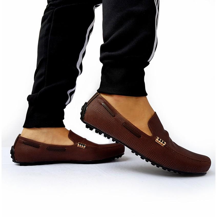 mr darwis sepatu slip on kulit pria mr010 | Shopee Indonesia