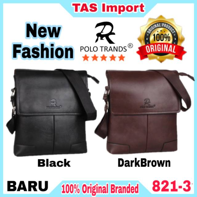 IdolaBags - Tas Selempang Pria / Tas Polo Wisdom Import Original / Slingbag Kulit Mini | Shopee Indonesia