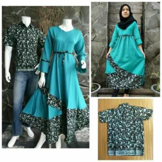 Perbandingan harga Couple Batik Keluarga Sarimbit Keluarga Dilan Melina Maharani lowest price - only Rp32.