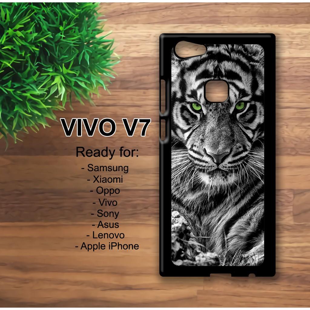 Case VIVO V7 Custom Case Tiger Wallpaper