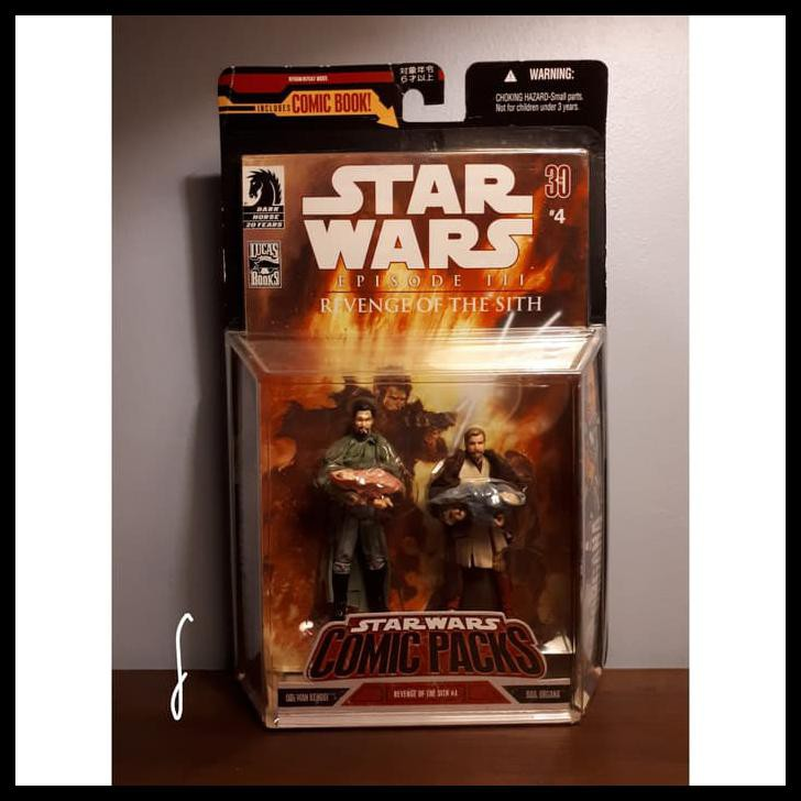 Produk Unggulan Star Wars Episode Iii Revenge Of The Sith Comic Packs 4 Shopee Indonesia