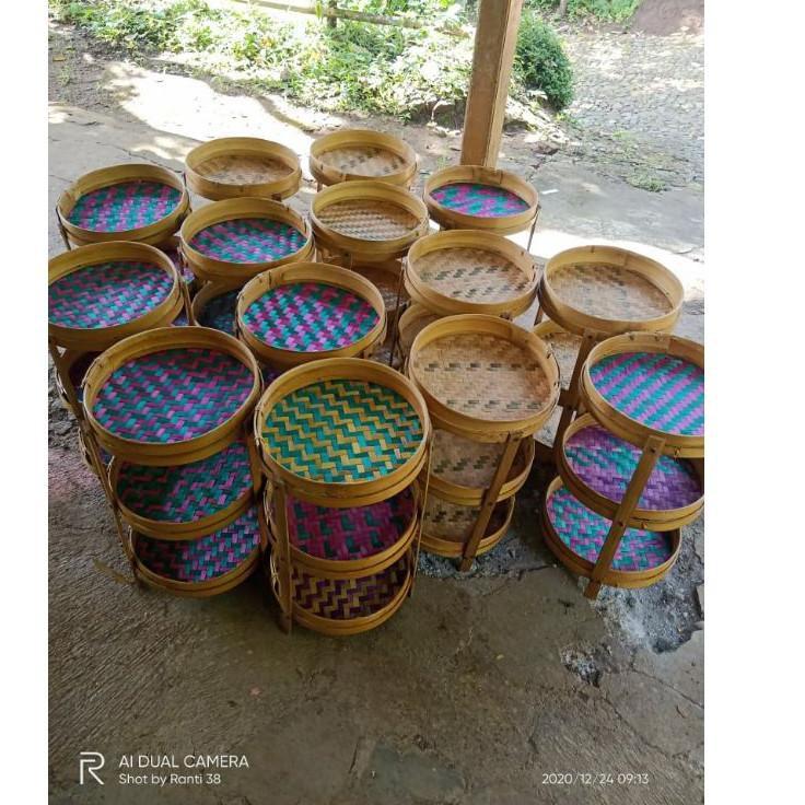 Paling Disukai - Tempat Bumbu Tempat Bawang Anyaman Bambu Murah