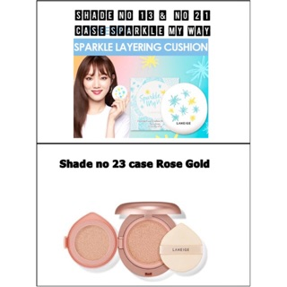 Laneige Layering Cover Cushion & Concealing Base. thumbnail