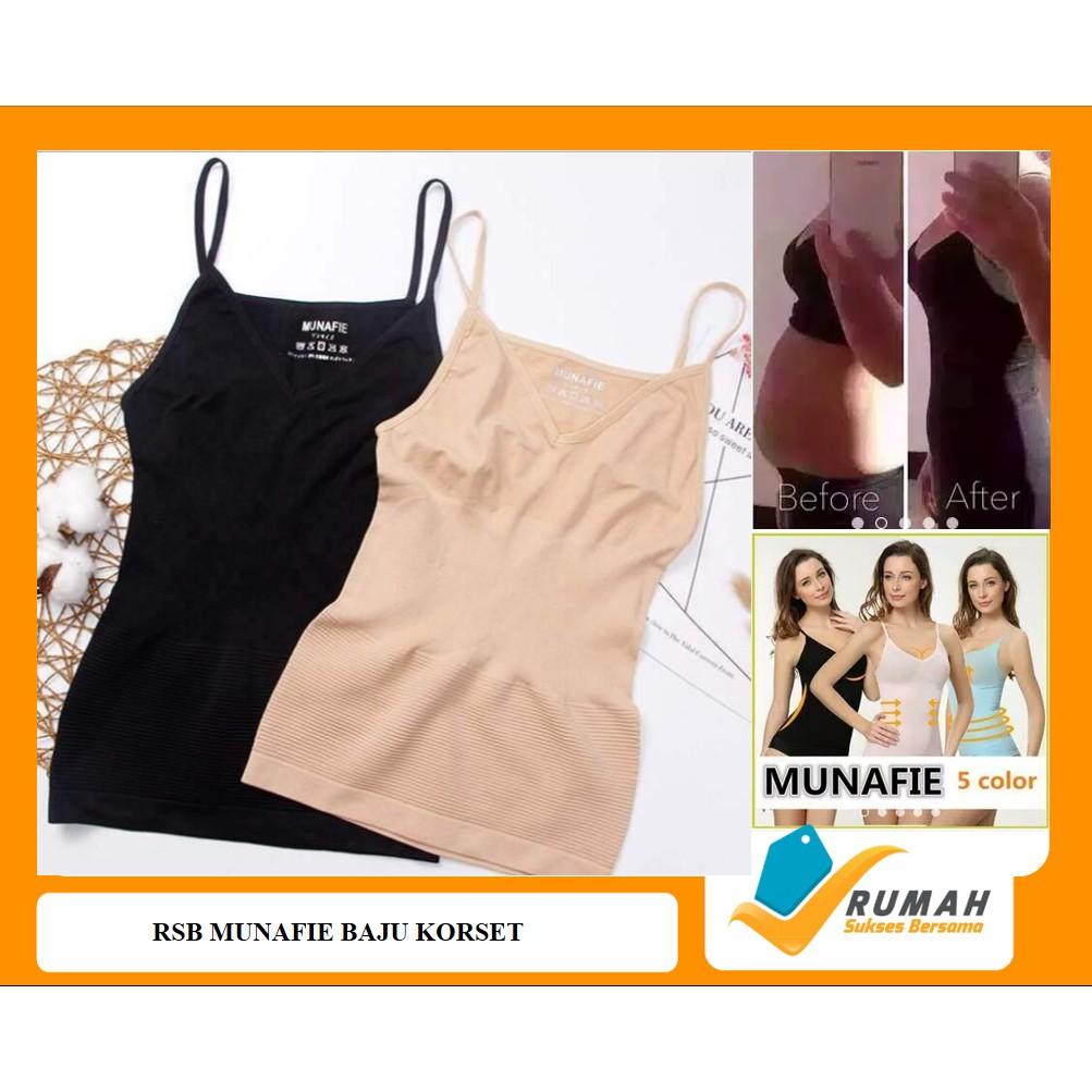 Kaos dalam baju MUNAFIE   ATASAN MUNAFIE   MUNAFIE BAJU KORSET ORIGINAL  SLIM CLOTH  4312d1129f